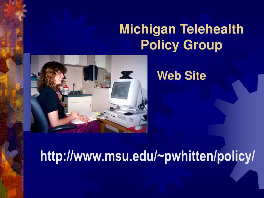 Michigan Telehealth Policy Group