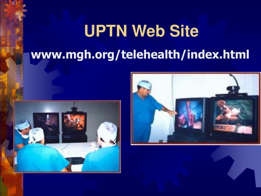 UPTN Web Site
