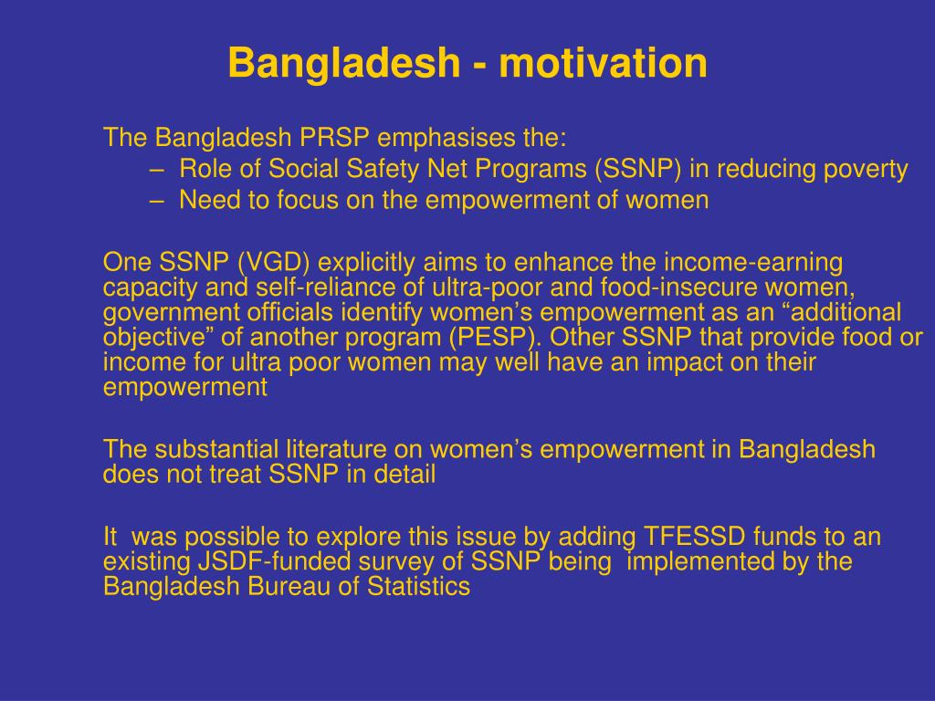 education and women's empowerment in bangladesh Women's empowerment as a result of microcredit loans in bangladesh  looked into the effect of micro-credit on the education, health-care, women empowerment,.