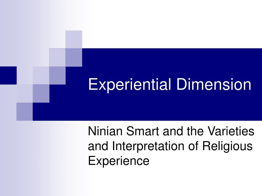 Experiential Dimension