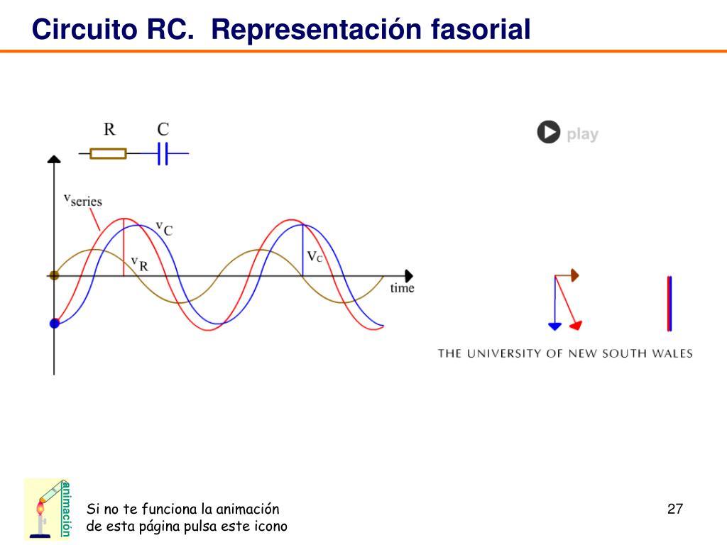 Circuito Rc : Ppt circuitos de corriente alterna powerpoint