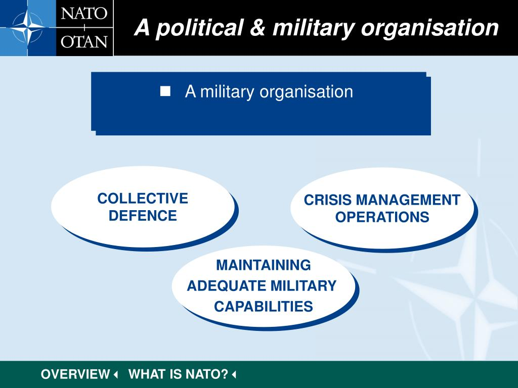 A political & military organisation