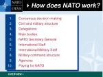 how does nato work