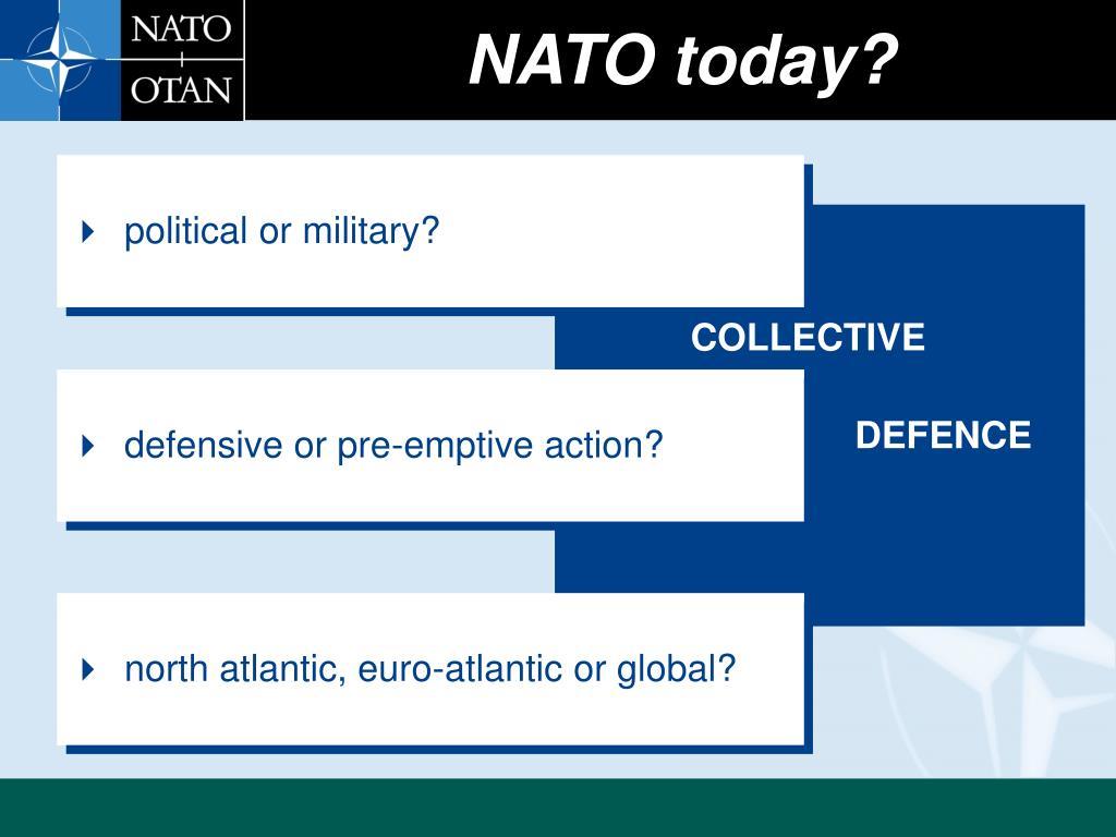 NATO today?