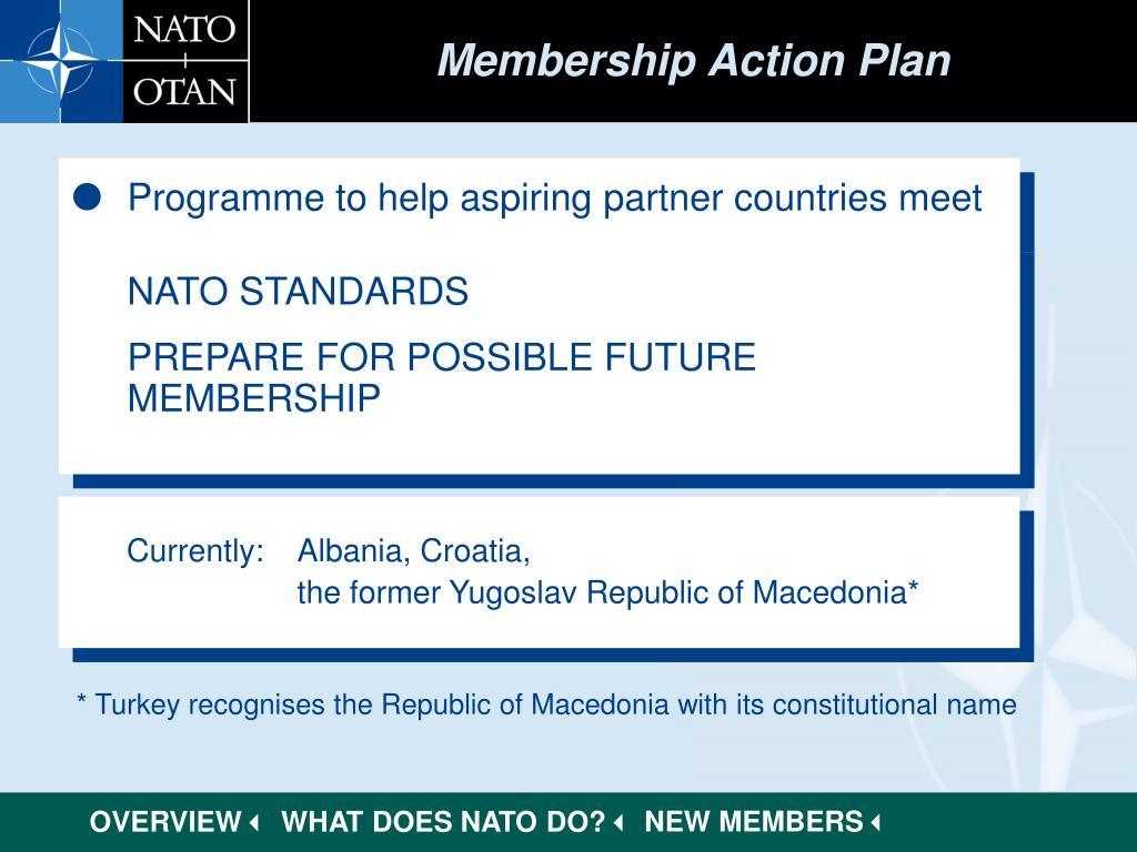 Membership Action Plan