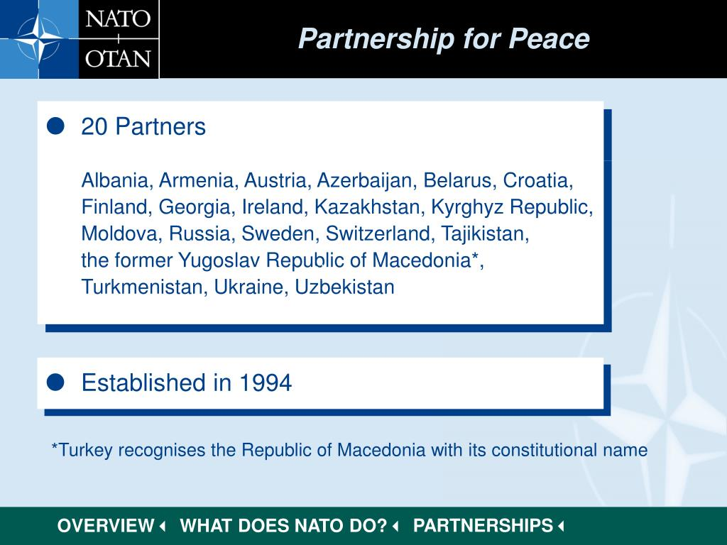 Partnership for Peace