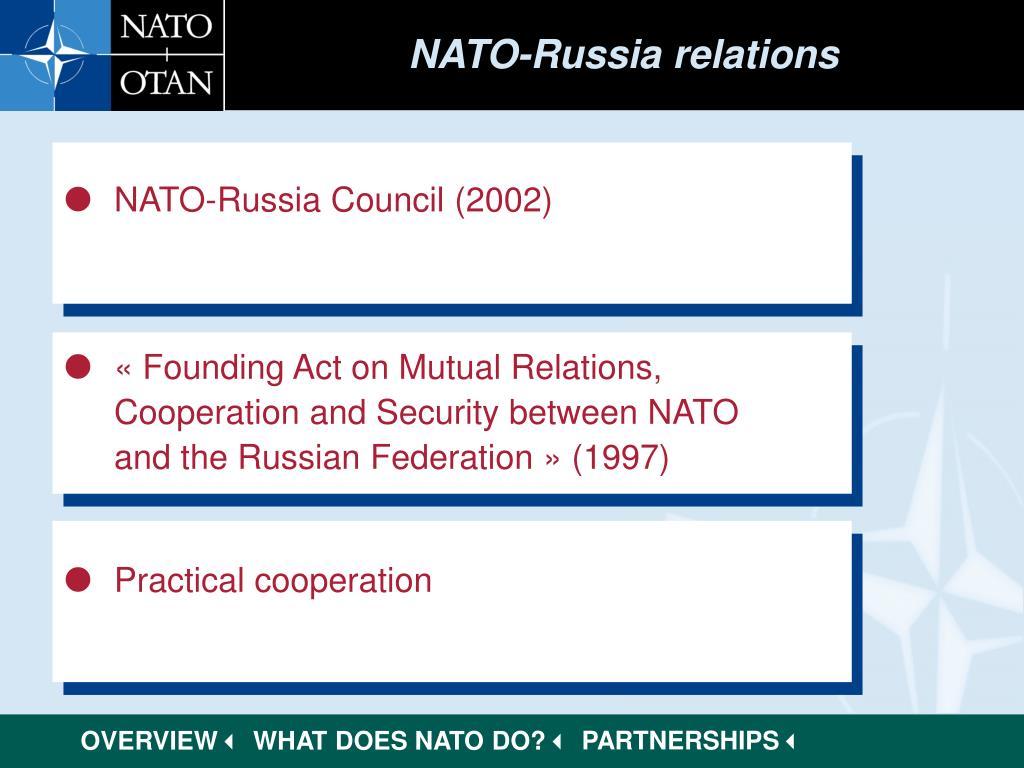 NATO-Russia relations