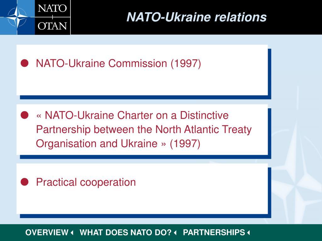 NATO-Ukraine relations