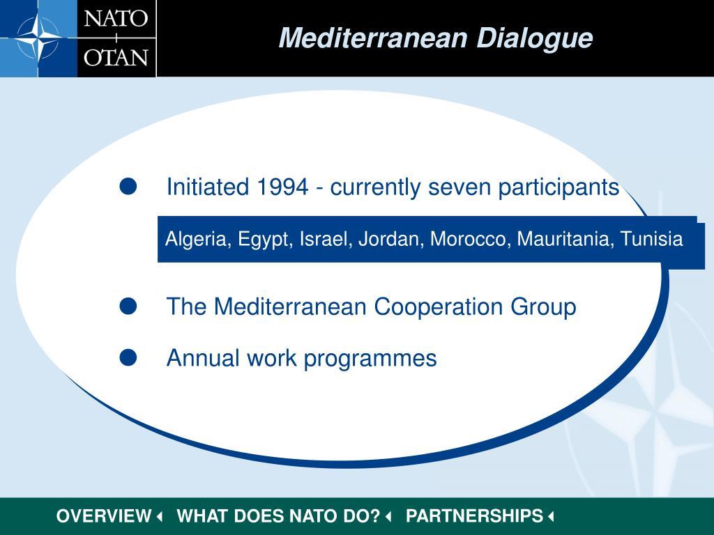 Mediterranean Dialogue