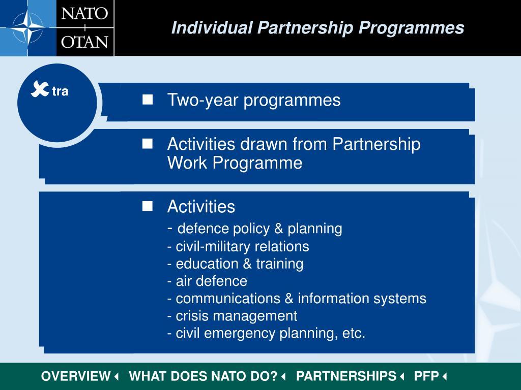 Individual Partnership Programmes