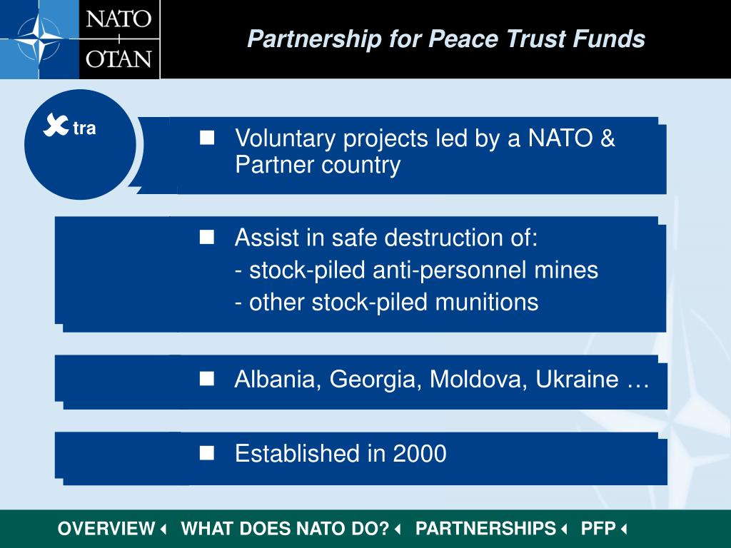 Partnership for Peace Trust Funds