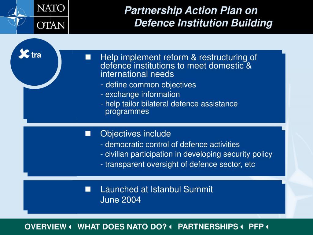 Partnership Action Plan on