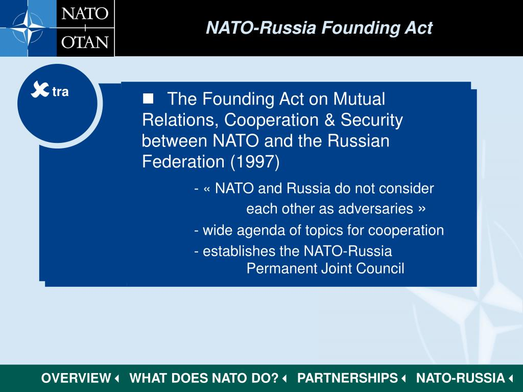 NATO-Russia Founding Act