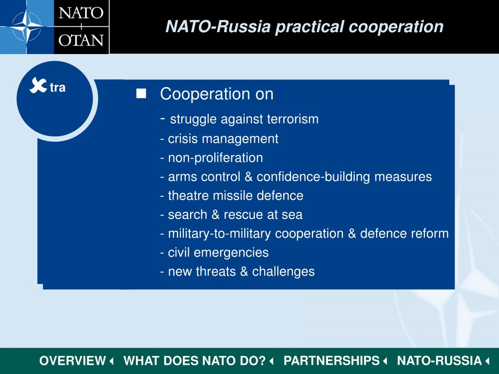 NATO-Russia practical cooperation
