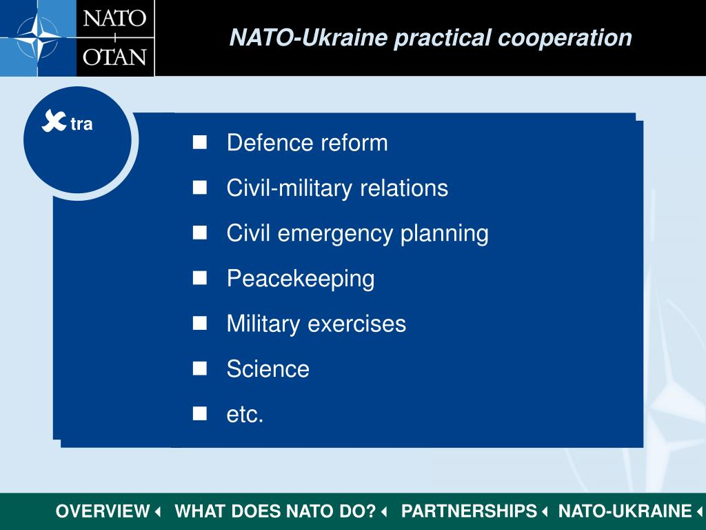 NATO-Ukraine practical cooperation
