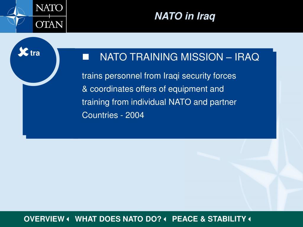 NATO in Iraq