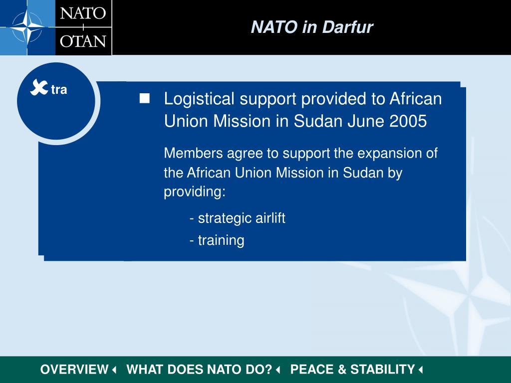 NATO in Darfur