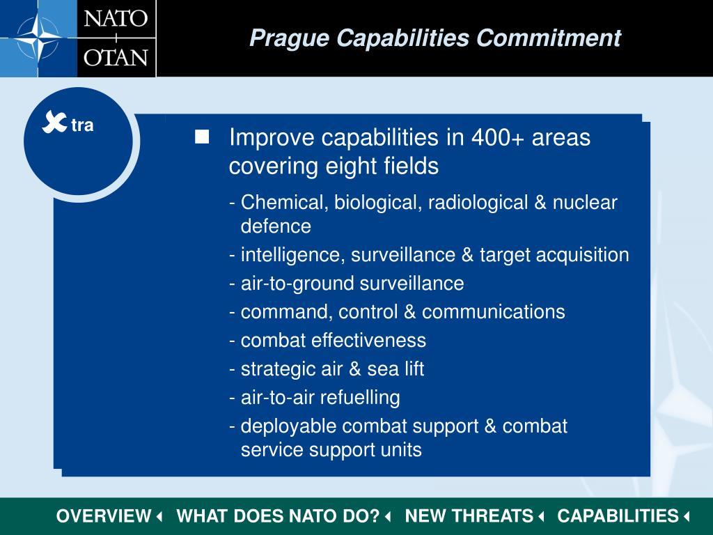 Prague Capabilities Commitment
