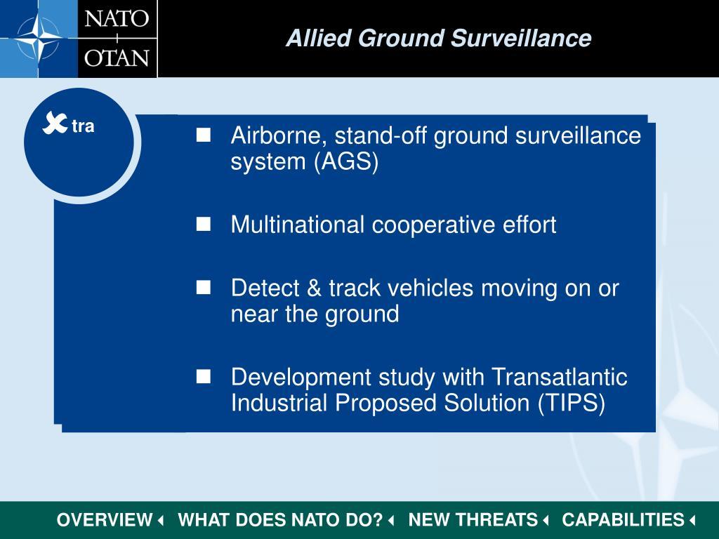 Allied Ground Surveillance