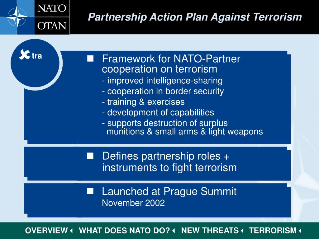 Partnership Action Plan Against Terrorism