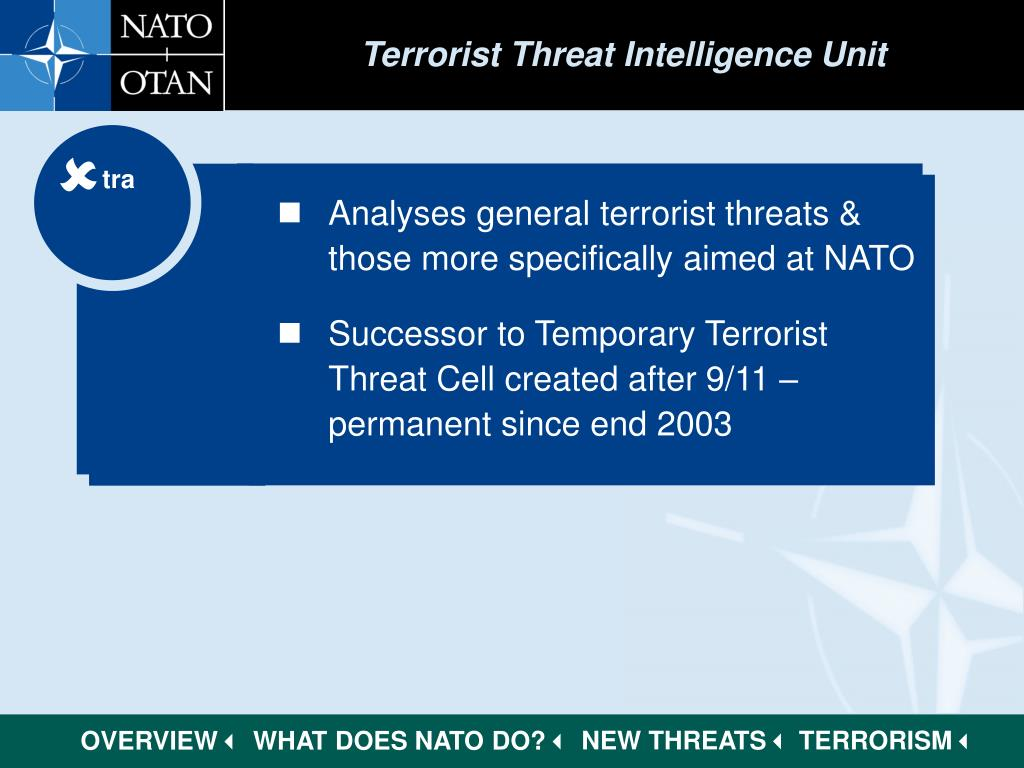 Terrorist Threat Intelligence Unit