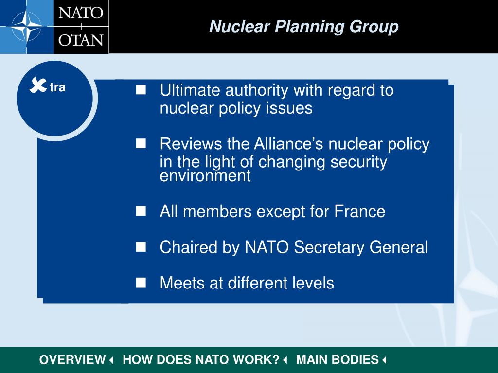Nuclear Planning Group