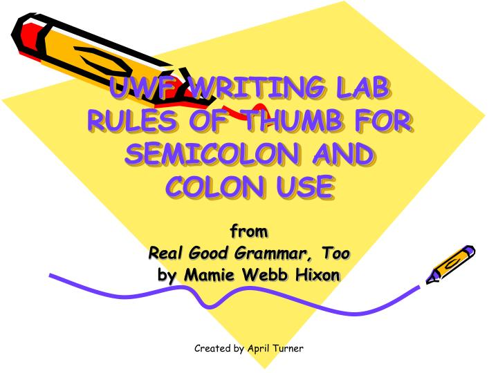 rules of thumb essay Some general rules of thumb rhetorical analysis is: always written in present tense (authors may be dead or have written in the past, but they continue to speak.