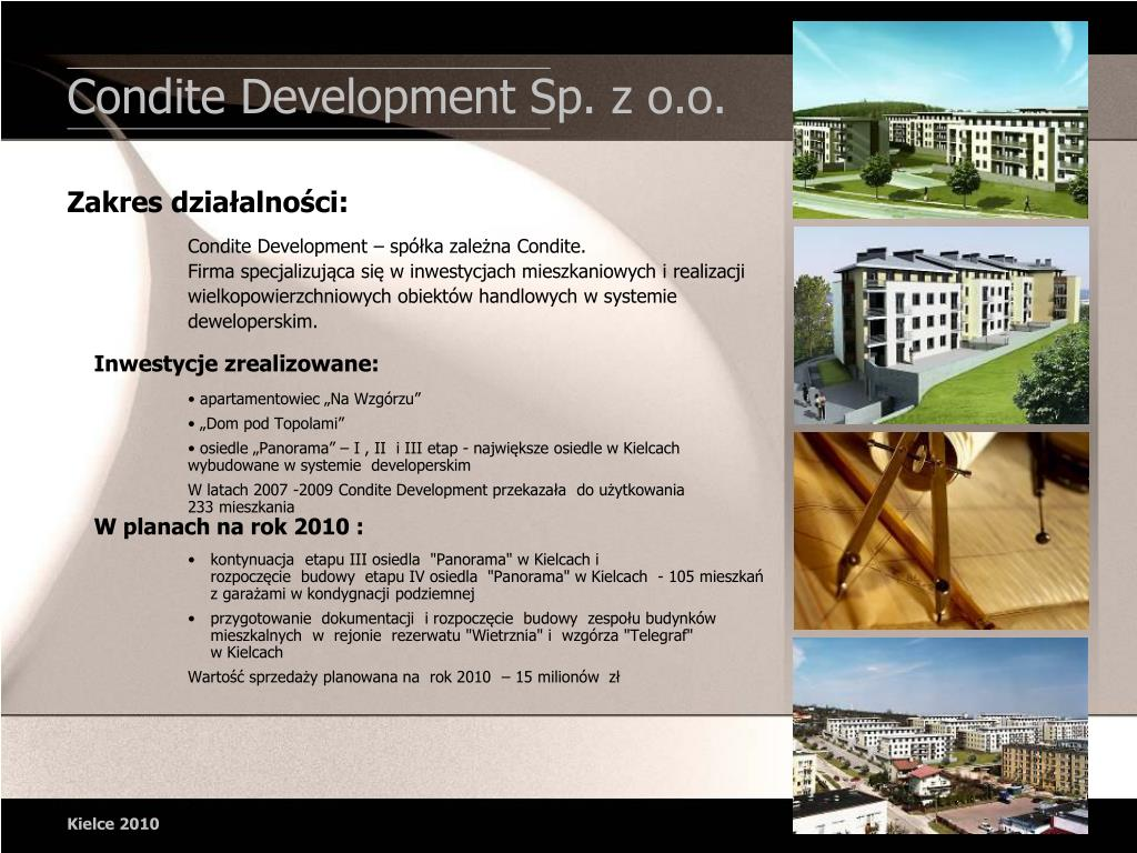 Condite Development Sp. z o.o.