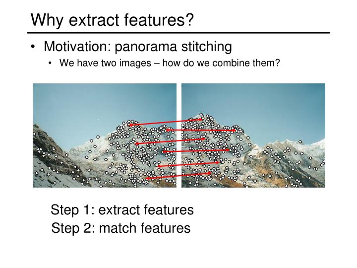 Why extract features3