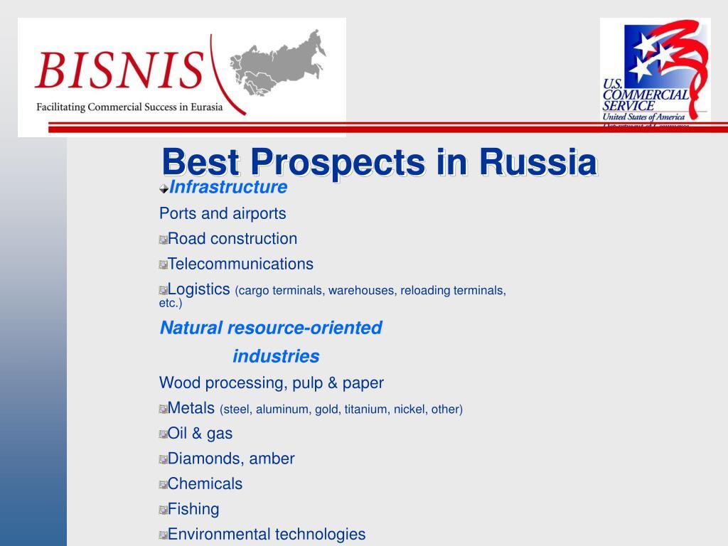 Best Prospects in Russia