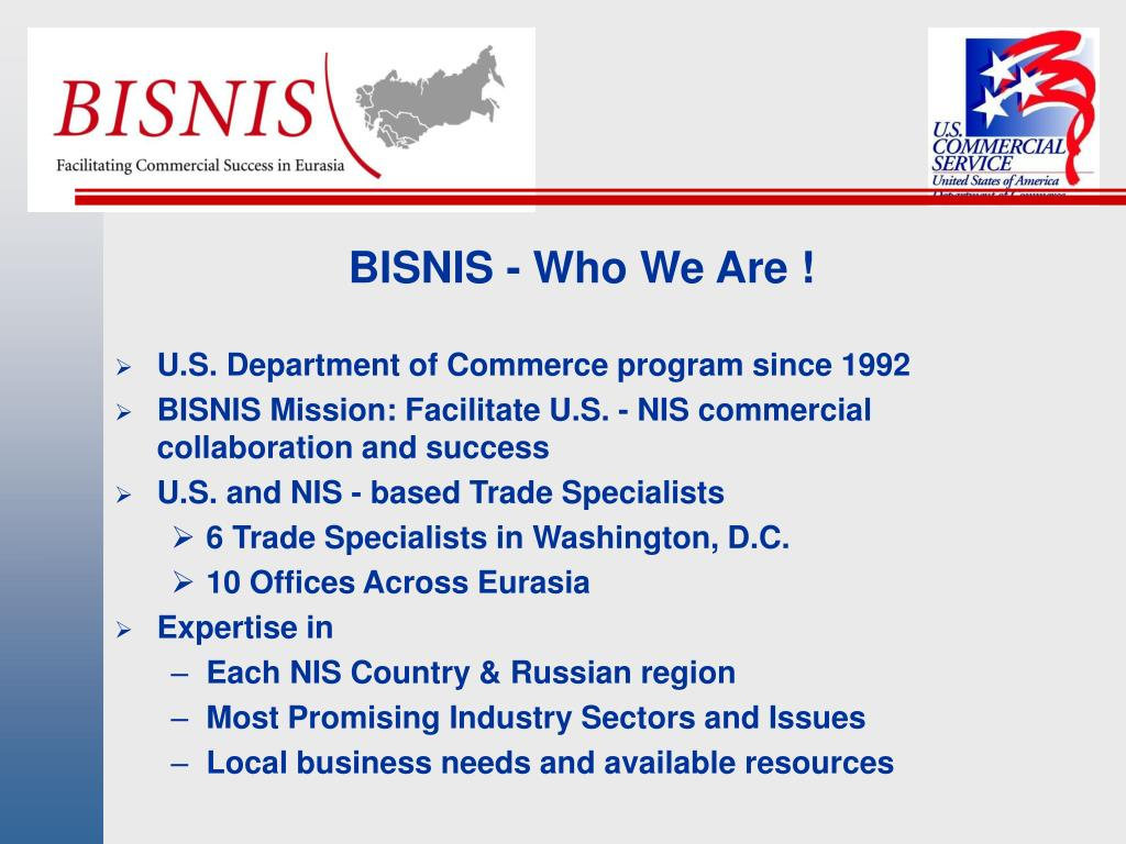 BISNIS - Who We Are !