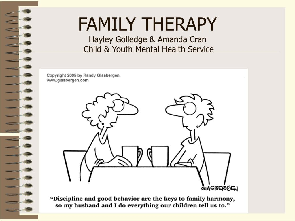 family therapy hayley golledge amanda cran child youth mental health service