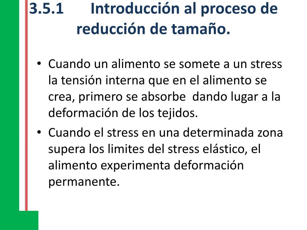 3.5.1Introducción al proceso de reducción de tamaño.