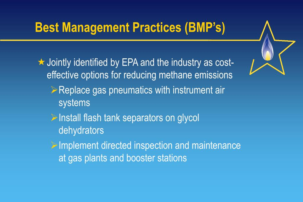 Best Management Practices (BMP's)