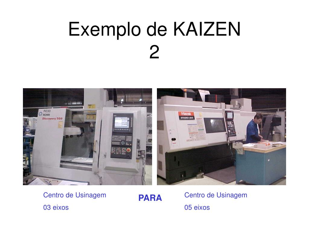 Exemplo de KAIZEN