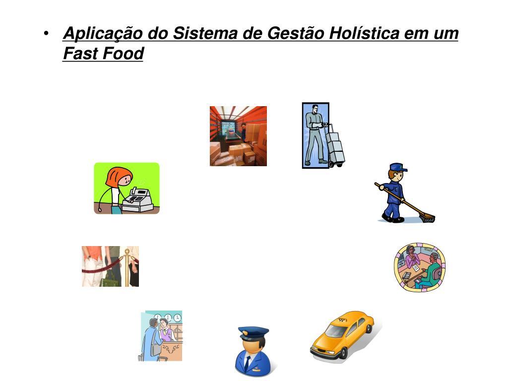 Aplicação do Sistema de Gestão Holística em um Fast Food