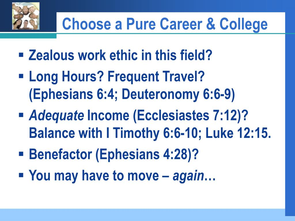 Choose a Pure Career & College