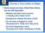 choose a true leader or helper26