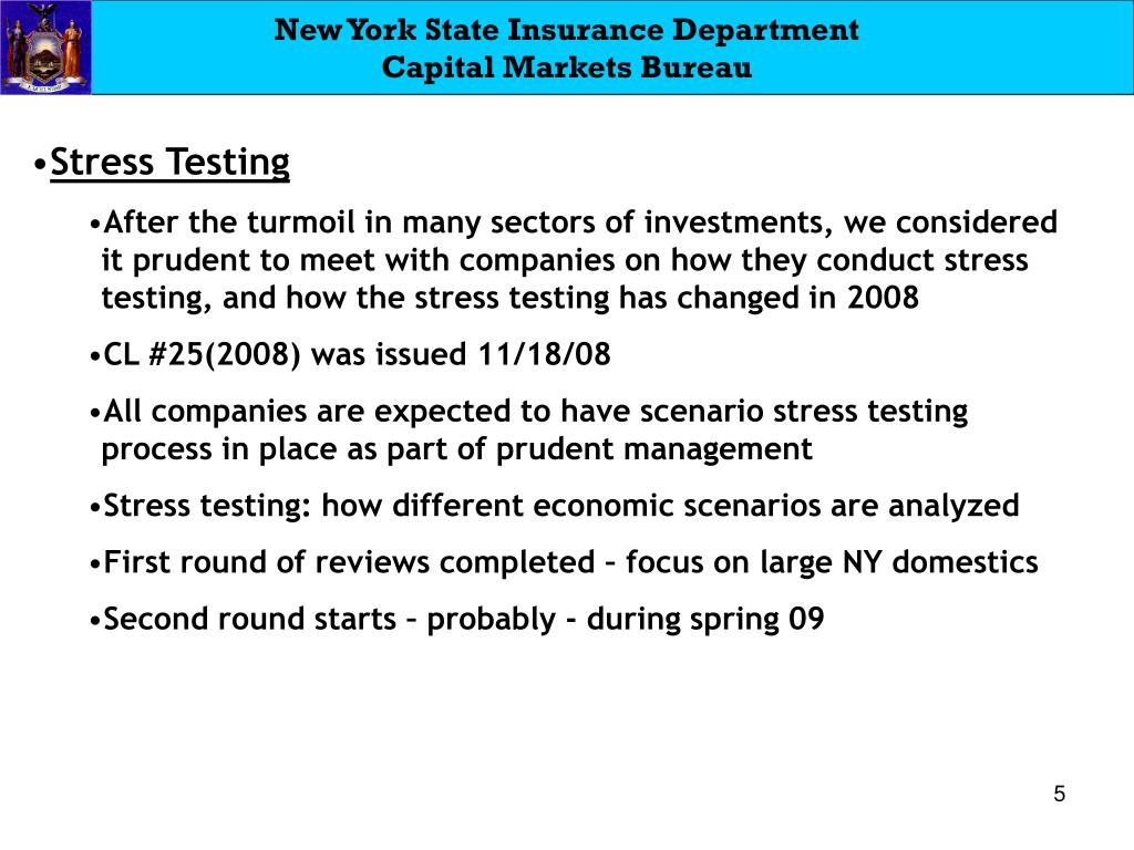 New York State Insurance Department