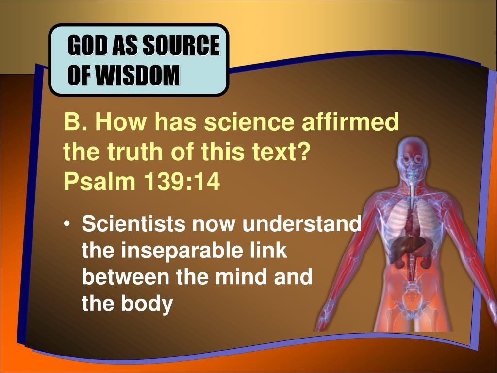 GOD AS SOURCE OF WISDOM
