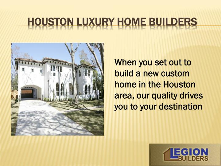 Houston luxury home builders