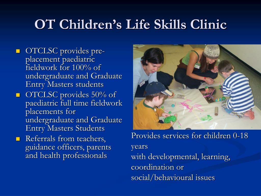 OT Children's Life Skills Clinic
