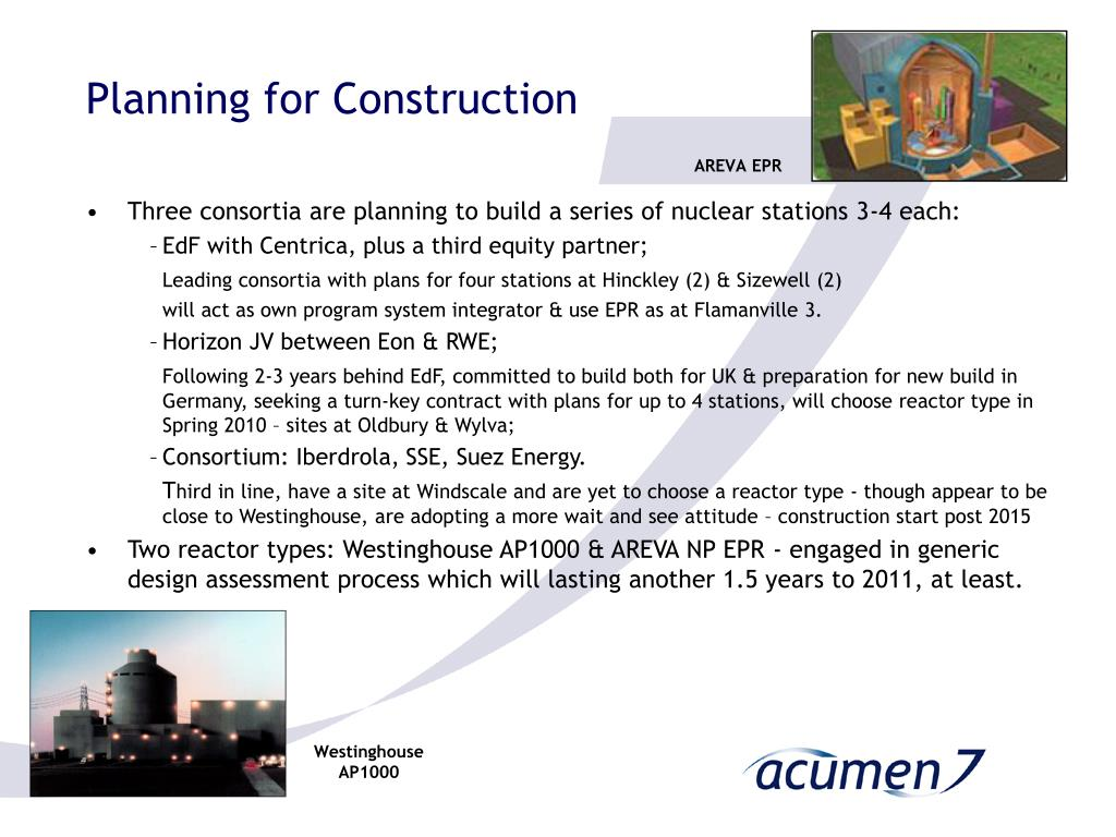 Planning for Construction