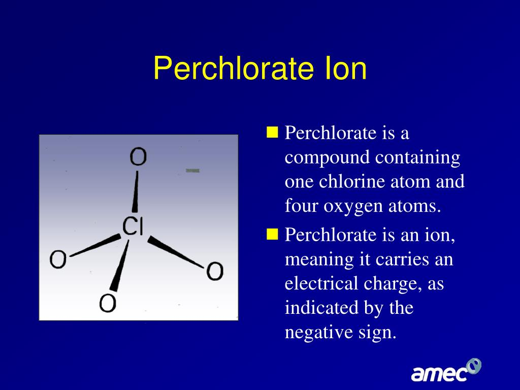Perchlorate Ion