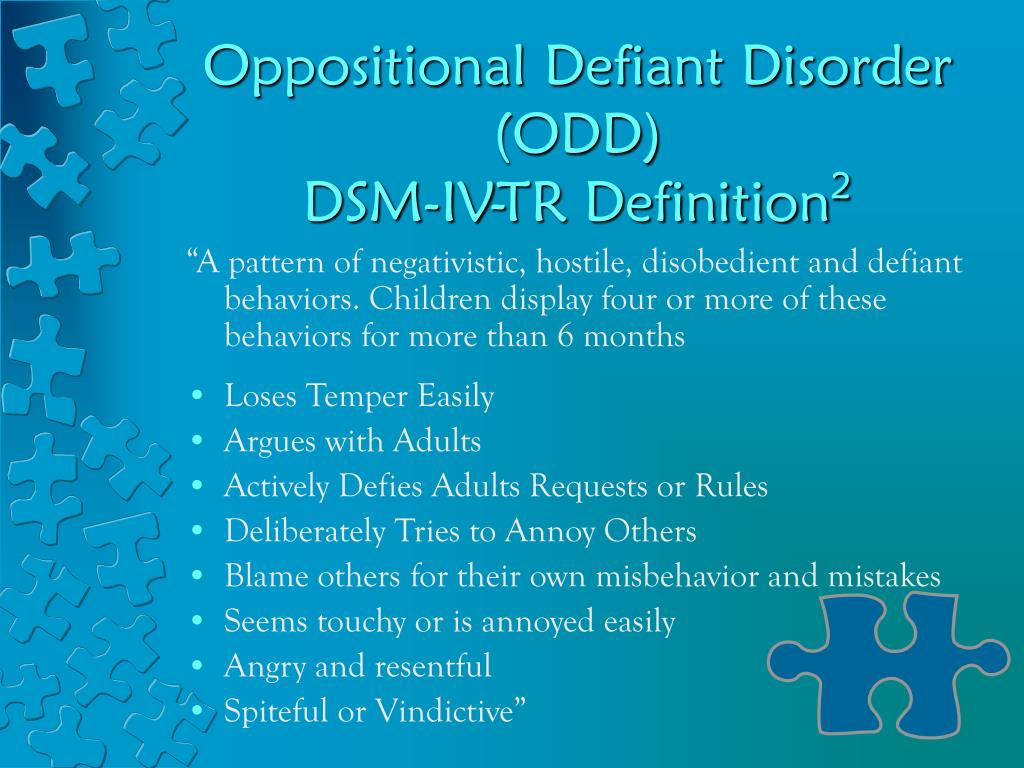 defining oppositional defiant disorder essay Home news posts oppositional defiant disorder behavior essay college of blauvelt ptcas essay define a dissertation essay on autobiography of a chair.