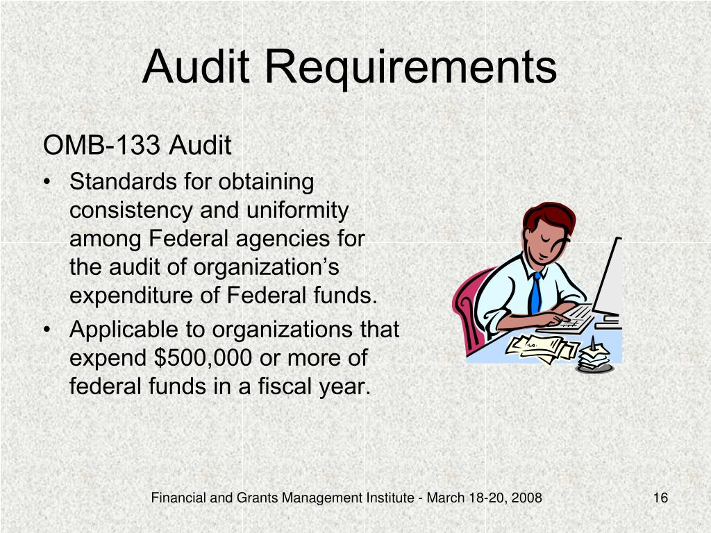 Audit Requirements