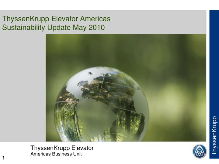 Thyssenkrupp elevator americas sustainability update may 2010 l.jpg