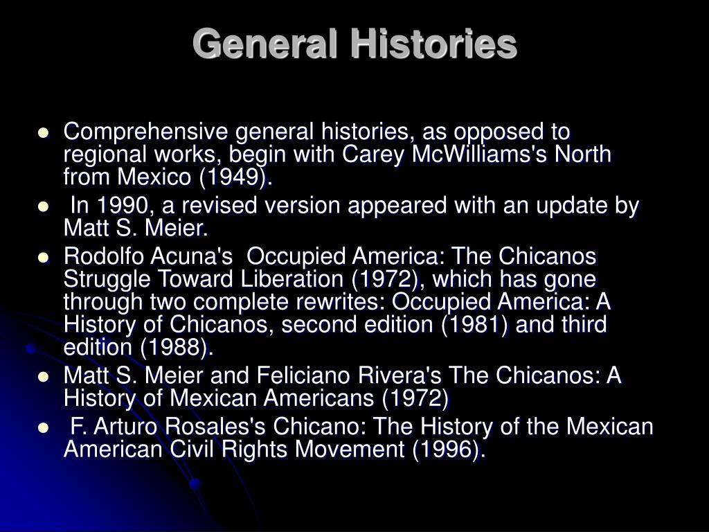 General Histories