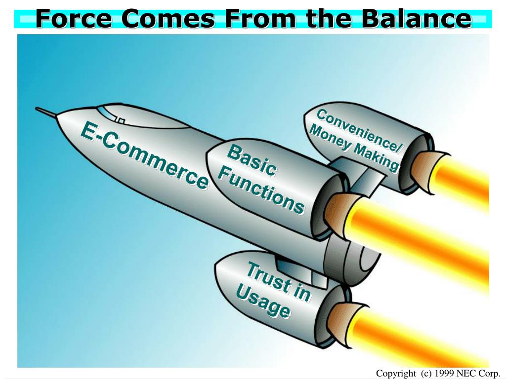 Force Comes From the Balance