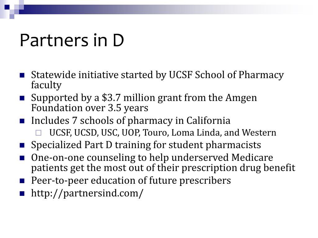 Partners in D